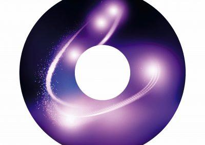 purple design cosmic
